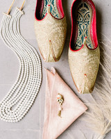 bride and groom wedding accessories