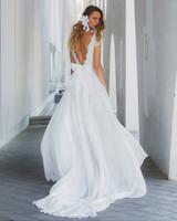 sheath cap sleeves persy wedding dress spring2018