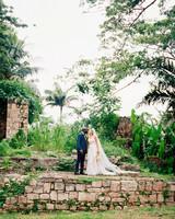 porsha terry wedding jamaica kiss outdoor