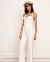 Form-Fitting Wedding Jumpsuit