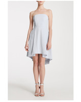short bridesmaid dresses name of love strapless