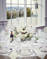 shqipe zenel wedding table centerpiece white