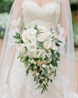 52 ideas for your spring wedding bouquet martha stewart weddings white wedding bouquet junglespirit Choice Image