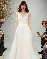 theia wedding dress spring 2018 sleeveless sweetheart sash