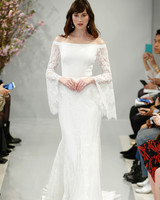 theia wedding dress spring 2018 long sleeves off-the-shoulder