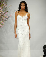 theia wedding dress spring 2018 double spaghetti strap embellished