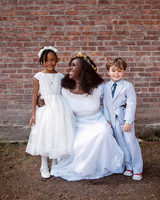 vasthy mason wedding bride with kids