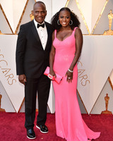 Viola Davis and Julius Tennon 2018 Oscars