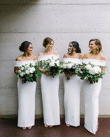 white bridesmaid dresses teneil kable