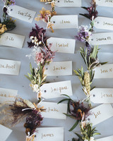 dried flower favors