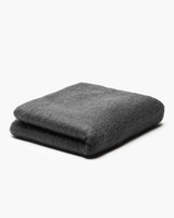 wool anniversary gift throw blanket black gray