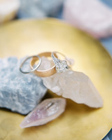 wedding rings stones