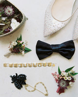 allie and joe italy wedding shoes jewelry and bow tie