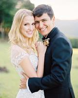 amanda alex wedding outdoor couple portrait
