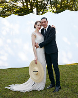 avril quy wedding new york couple white background