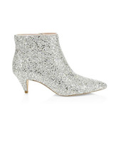 bridal booties kate spade stan glitter