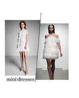 fall 2019 bridal fashion week trends mini dresses