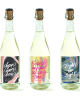 Speak Wines sparkling wine bottles