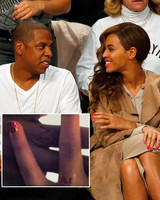 Beyonce's Matching Tattoo with Jay Z