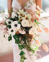 europe style romantic bridal bouquet