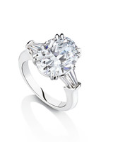harry winston oval engagement ring - Harry Winston Wedding Rings