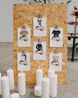 pet themed seating chart