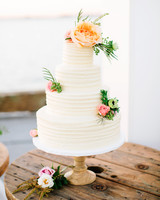 julie anthony real wedding cake