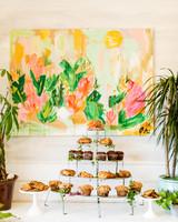 kara bridal shower muffins