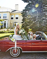 kate nick wedding vintage car
