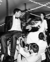 kayla michael wedding hora