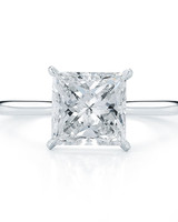 Kwiat Princess-Cut Engagement Ring