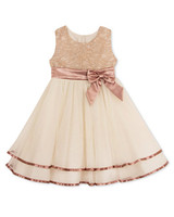lace flower girl dress with bow rare editions