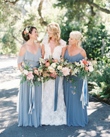 laurie michael wedding bride and bridesmaids