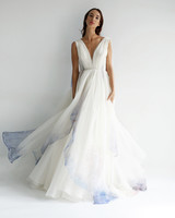 leanne marshall wedding dress spring 2019 sleeveless a-line tulle blue