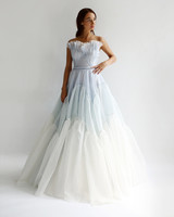 leanne marshall wedding dress spring 2019 strapless ruffles a-line blue