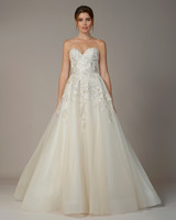 liancarlo wedding dress fall 2018 strapless sweetheart a-line