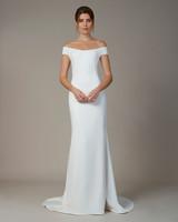liancarlo wedding dress fall 2018 sheath off-the-shoulder