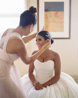 maid of honor hairstyles Inverted Topknot