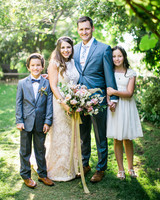 megan scott wedding family