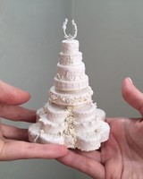 miniature royal wedding cake