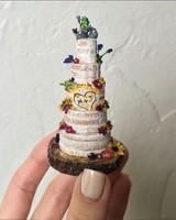 rustic mini cake