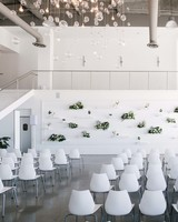modern wedding seating arrangement