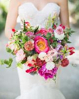 molly adam wedding bride bouquet