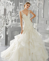 Tiered Wedding Dresses Mori Lee