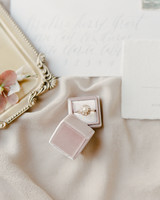 Anna Sheffield Pearl Engagement Ring