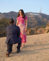 perfect proposals hilltop hollywood sign backdrop