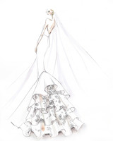 sachin and babi wedding dress sketch