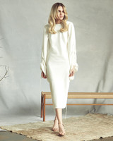savannah miller high neck long sleeve wedding dress spring 2020