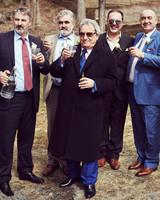 shqipe zenel wedding groomsmen