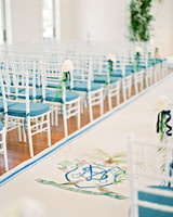 stefanie drew wedding aisle
